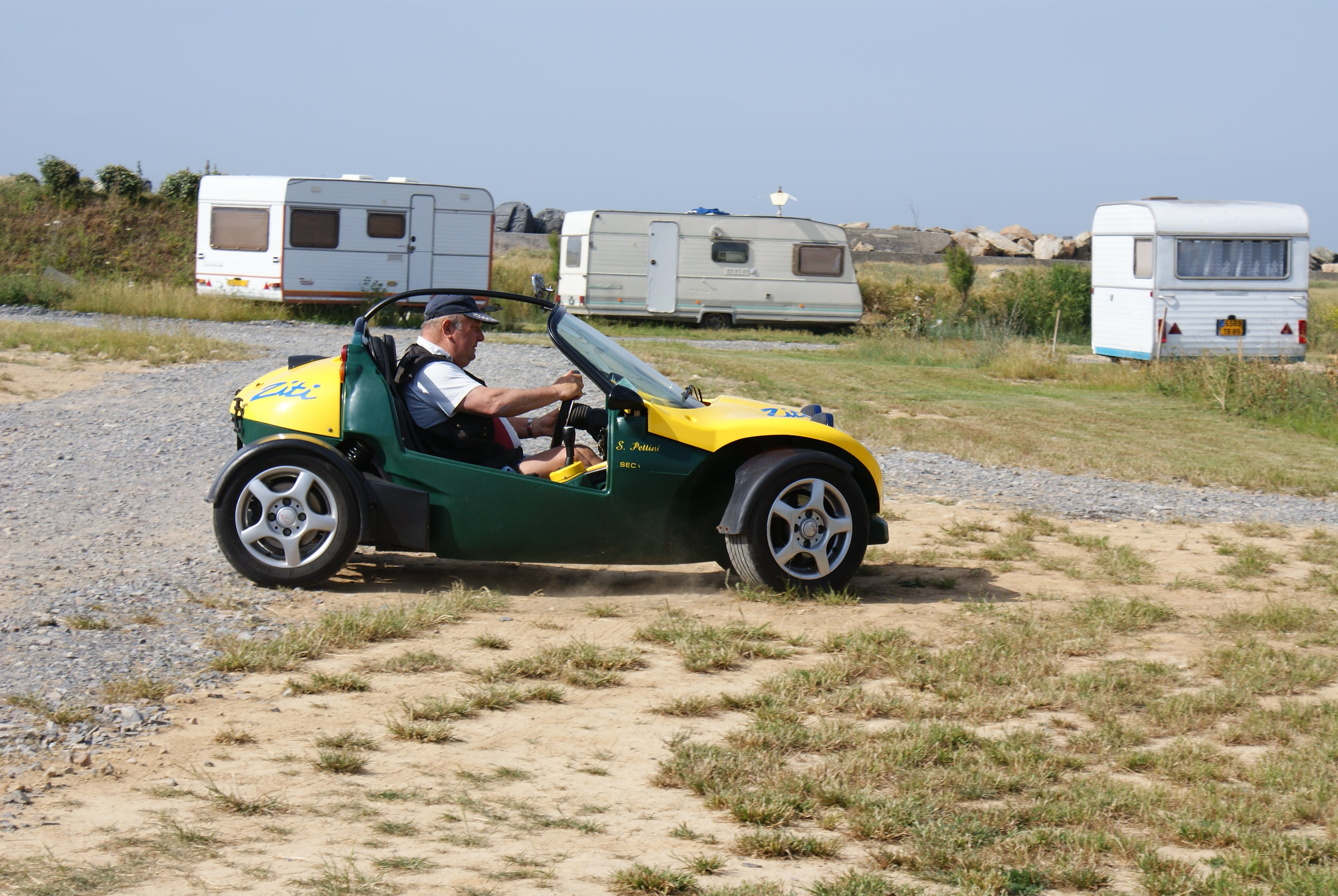 Vacances Roadster Balade Camping Le Pont Du Hable Normandie Grandcamp Maisy