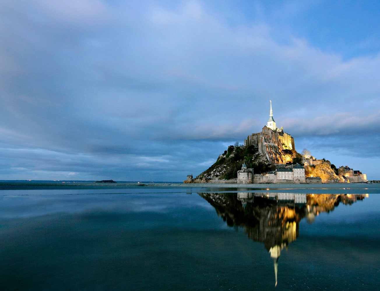 Mont Saint Michel en Normandie